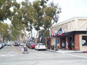 Balboa Island shopping