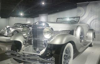 At the newly reopened Petersen Automotive Museum