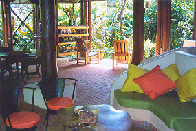 Playa Nicuesa Rainforest Lounge Area