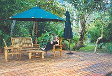Relaxing at Playa Nicuesa Rainforest