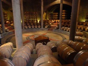 The heart of the Salentein Bodega.