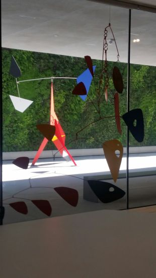 Calder, inside and out with Vertical Landscape.